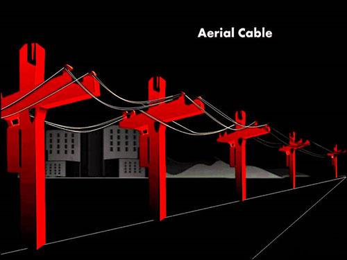 چگونه می توان کابل فیبر نوری هوایی را نصب کرد؟