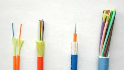 ساختار کابل فیبر نوری