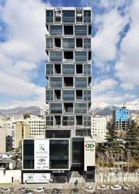 برج اداری تجاری پارک سنتر | فاطر رسا نور