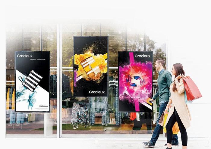 دیجیتال ساینیج مجتمع های تجاری و مراکز خرید