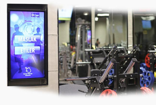 دیجیتال ساینیج مراکز تفریحی و ورزشی