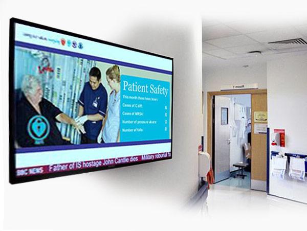 دیجیتال ساینیج بیمارستان ها و مراکز درمانی