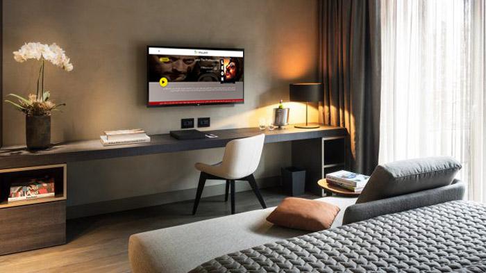 ارائه خدمات ارزش افزوده IPTV هتلی