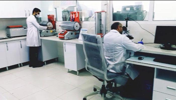 آزمایشکاه پلیمر فیبر نوری
